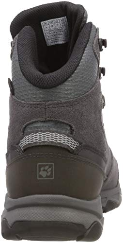 Women's Attack Hiking MTN Jack Rise Grey Mid Wolfskin Haze 4650 6 Grey W Texapore High Shoes qtgw5Rvw