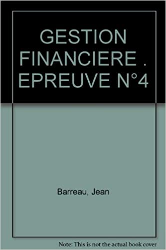Livre GESTION FINANCIERE . EPREUVE N°4 pdf