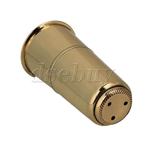 FidgetGear Metal High-pitch Saxophone Mouthpiece Cap Gold Plated Instrument Accessories from FidgetGear