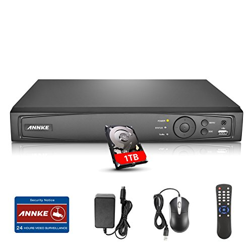 Annke 8 Channel Pre installed technology intelligent