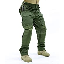 Tactical Molle Ripstop Combat Trousers Army Multicam / A-TACS LE Camo Pants for Men