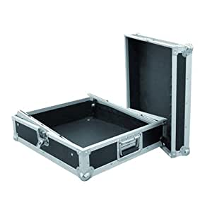Roadinger 3011157D MCV-19 - Caja rígida de transporte para mezclador profesional (12HE), color negro
