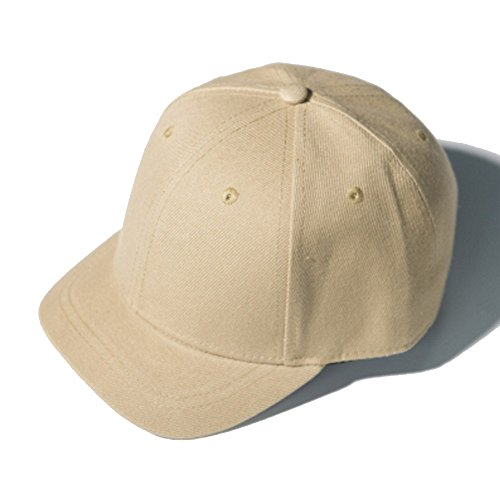 CATOP Baseball Hat Cotton Twill Cap Outdoor Sports Short Bill Stylish Anti Sweat Sunscreen Solid Trucker/Baseball Style Hat Cap Khaki