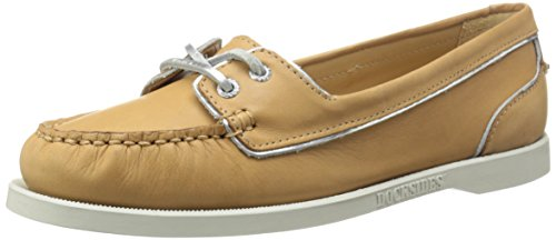 Sebago Docksides Two Eye - Náuticos de otras pieles mujer Tan Leather