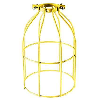 41rbLa9DzTL._SX425_ industrial wire iron bird cage vintage ceiling fan light covers