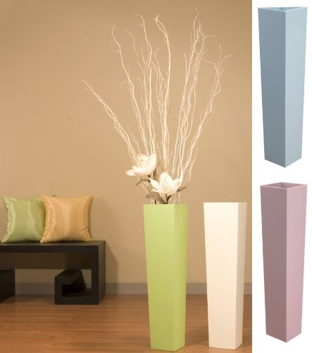 27 In Tall Tapered Floor Vase And White Branches Amazon