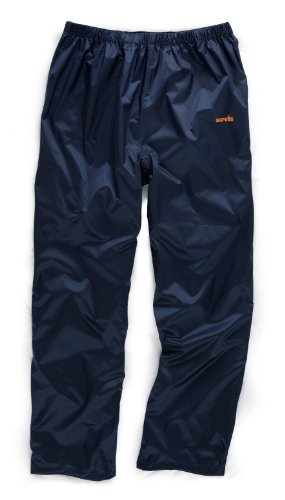 Scruffs Pac-a-way Trousers Navy M