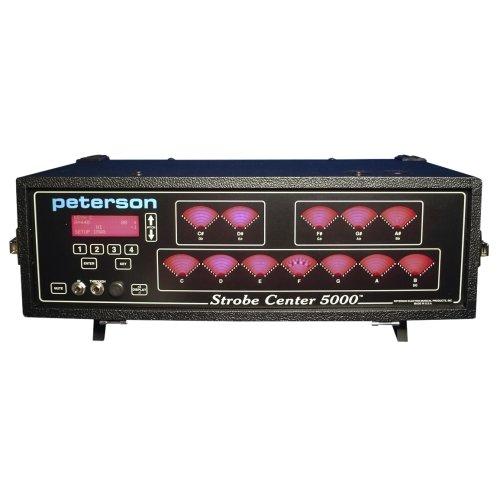 - Peterson Strobe Center 5000 II 12 Note Display Strobe Tuner