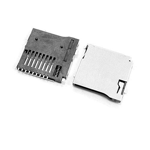 uxcell 5 Pcs Spring Loaded Push/Push Micro SD Transflash Memory Card Socket Slot (Micro Sd $2 Card Under)