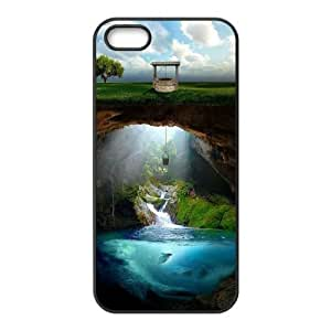 Customized case Of Fantasy Fairy Tale Hard Case for iPhone 5,5S