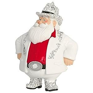 Rhinestone Cowboy Santa Musical Ornament 2015 Hallmark