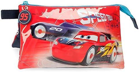 Disney Cars Speed Trails Estuche Tres Compartimentos, Rojo: Amazon.es: Equipaje