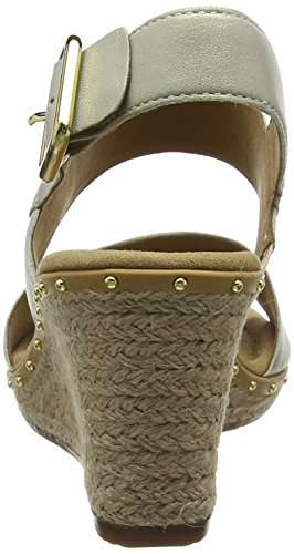Gabor Women's Comfort Sport Ankle Strap Sandals, Brown Multicolour (Savannajut/Niete 55)