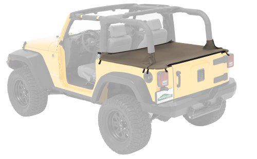 (Pavement Ends by Bestop 41827-36 Khaki Diamond Cargo Cover for 2007-0-2017 Wrangler JK 2-Door)