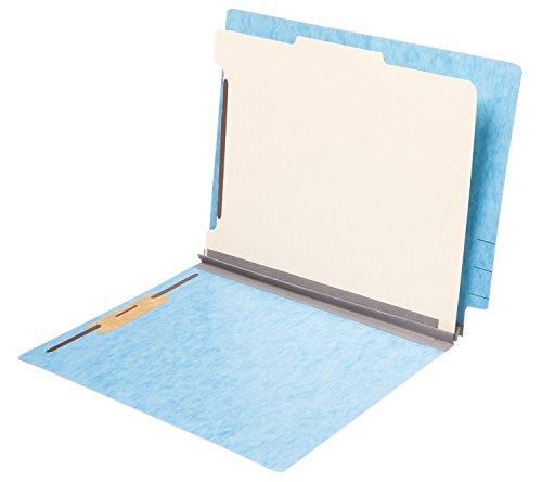 TAB Pressboard 분류 폴더 - 끝 탭, 1 분할기, 4 패스너, 2 확장,..