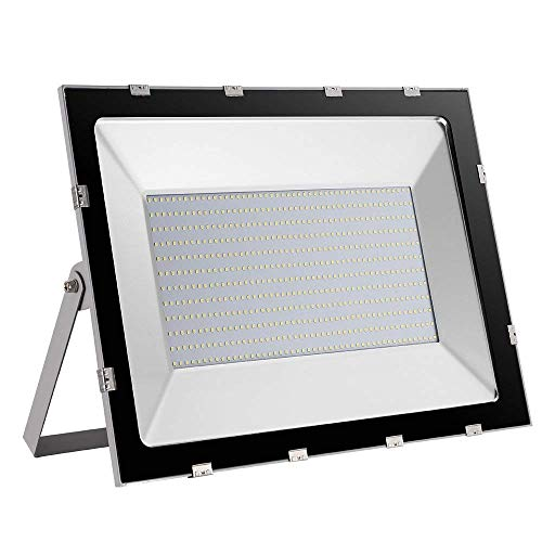 Led Flood Light 500W 45000LM Super Bright Ultra-Thin Floodlight Waterproof IP65 Landscape Security Lights for Outdoor Indoor Garage Garden Yard Parking Lots Cold White - 500w Floodlight