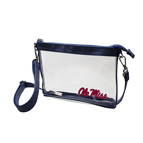 Capri Designs Clear Small Crossbody Bag Stadium Approved - UM Ole Miss