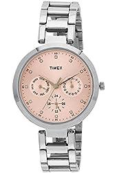 Timex Women's Analog Pink Dial Watch