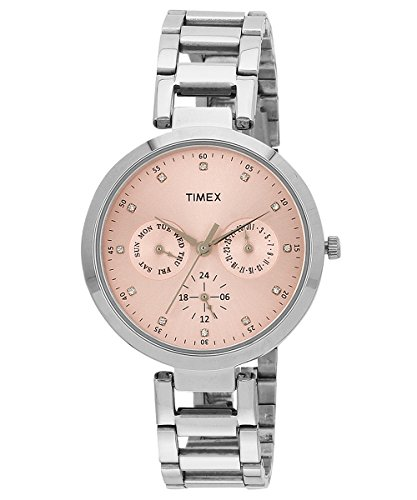 Timex Women's Analog Pink Dial Watch