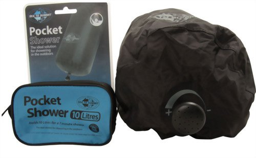 Pocket Shower - Ideal for Music Festivals