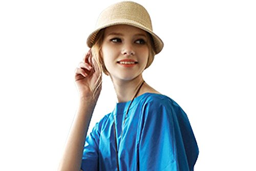 Eforstore Women Girls Foldable Topless Visor Sun Hat Wide...