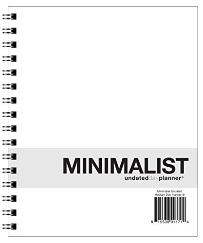 Undated Day Planner (Action Publishing UNDATED Minimalist Day Planner® (7