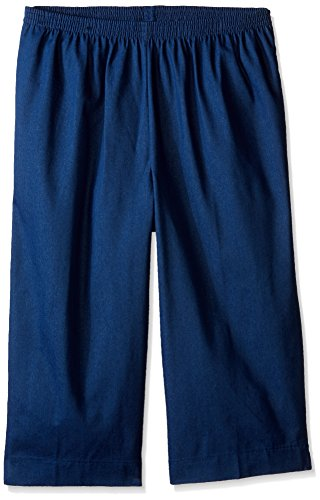 Alfred Dunner Womens Plus-Size Denim Capri