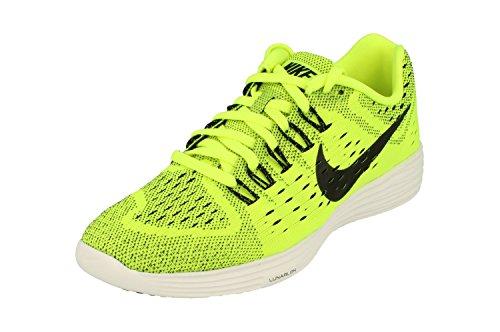 Nike Heren Lunartempo Hardloopschoen Volt Zwart Wit Zwart 700