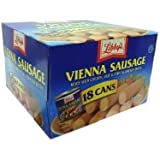 Libby's Vienna Sausage in Chicken Broth 18 Cans 4.6 oz. each by Libby's