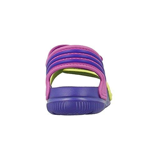 Adidas - Akwah 9 - Couleur: Jaune-Violet - Pointure: 22.0