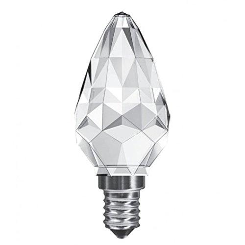 Luxram 3 WT cristal llevó bombillas de luz 3 WT=28 WT blanco cálido: Amazon.es: Iluminación