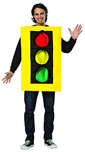 (Rasta Imposta Men's Traffic Light Tunic, Yellow, One)