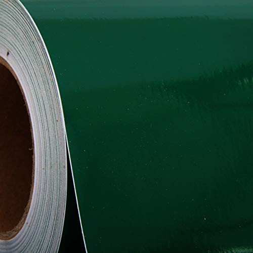 TM 24 Inchi Self Adhesive Sing Vinyl by The YD, 6 SQ FT/YD (Forest Green) (Yd Forest Green)