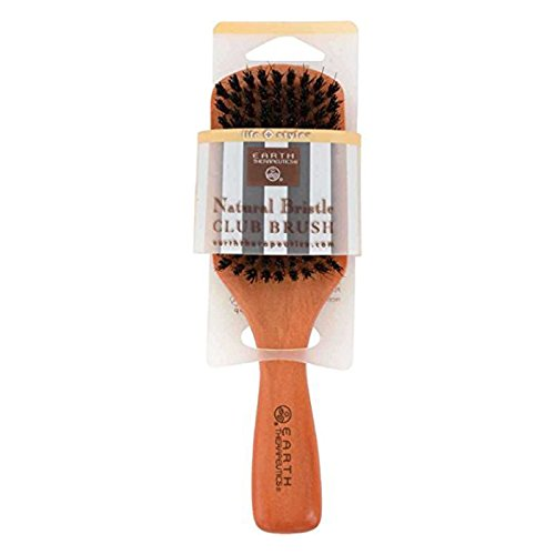 Earth Therapeutics Life + Style Natural Bristle Club Brush,