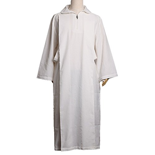 Blessume Catholic White ALB Worship Vestments by BLESSUME
