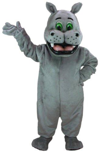 [Harry Hippo Mascot Costume] (Hippo Mascot Costume)