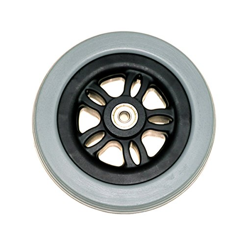 Alvey Front Anti-Tip / Rear Caster Wheel for Jazzy 614 and 614 HD