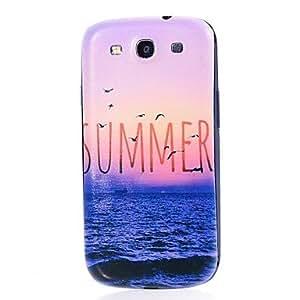 SHOUJIKE Samsung S3 I9300 compatible Graphic Plastic Back Cover