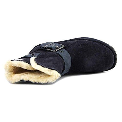 Emu Australia Parkes Womens Vanntett Saueskinn Støvler I Indigo Størrelse 8