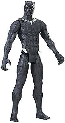 Marvel Black Panther Titan Hero Series 12 Inch [Black ...