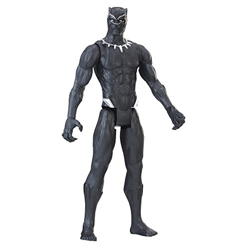 Marvel Black Panther Titan Hero Series 12-inch Black Panther from Marvel
