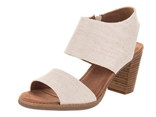 ( Toms Women's Majorca Cutout Sandal - Natural Yarn-dye, 5.5 B(M))