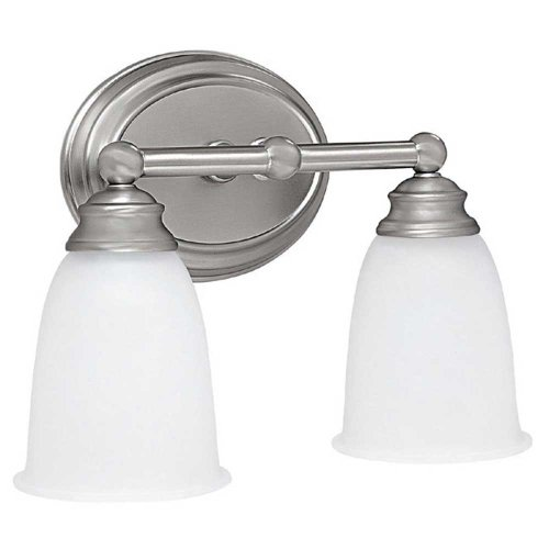 Capital Lighting 1082MN-132 Vanity with Acid Washed Glass Shades, Matte (132 Capital Lighting)