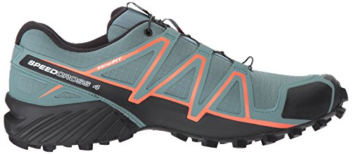 Salomon Mens Speedcross 4 Trail Running Shoes North Atlantic/Black/Scarlet Ibis d1qiow0VIN