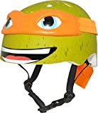 ninja bikes for kids - Teenage Mutant Ninja Turtle Youth Michelangelo Helmet, Orange