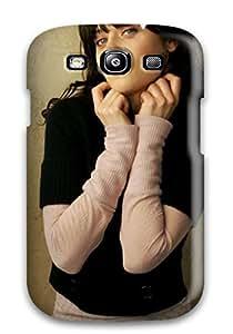 Special AnnDavidson Skin Case Cover For Galaxy S3, Popular Zooey Deschanel Phone Case