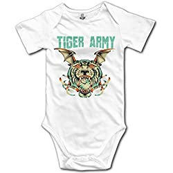 Tiger Army Band Cat Baby Onesies Baby Gift