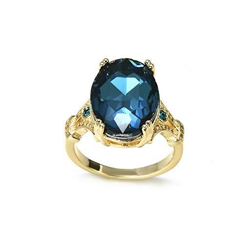- Monowi Oval Cut Gemstone Birthstone Wedding Engagement Ring Valentines Women Gift Newly | Model RNG - 19546 | 7