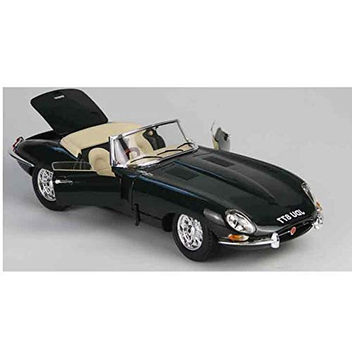 1.18 Classic Car Simulation Legierung Auto-Modell Roadster Metall-Spielzeug-Auto (Farbe: dunkelgrün) dongdong (Color : Dark Green)