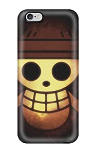 Sanp On Case Cover Protector For Iphone 6 Plus (strawhat Pirates Logo)